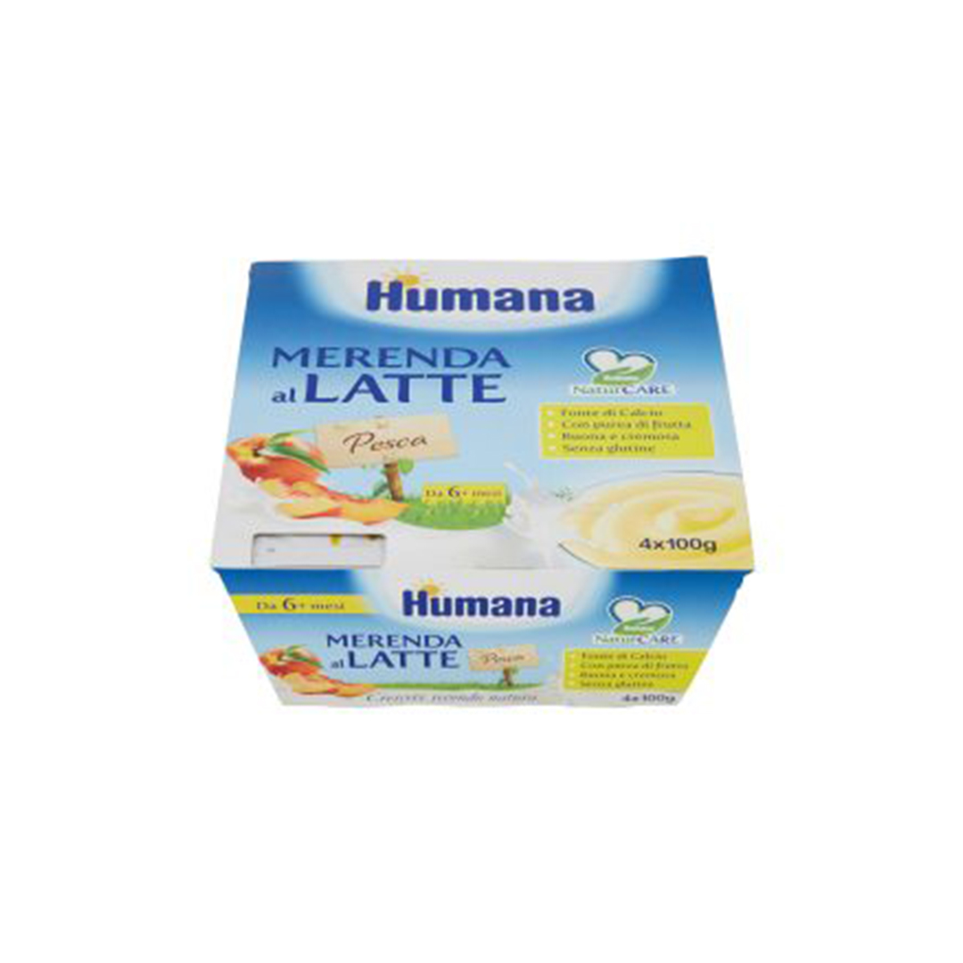 Humana Merenda al Latte Pesca