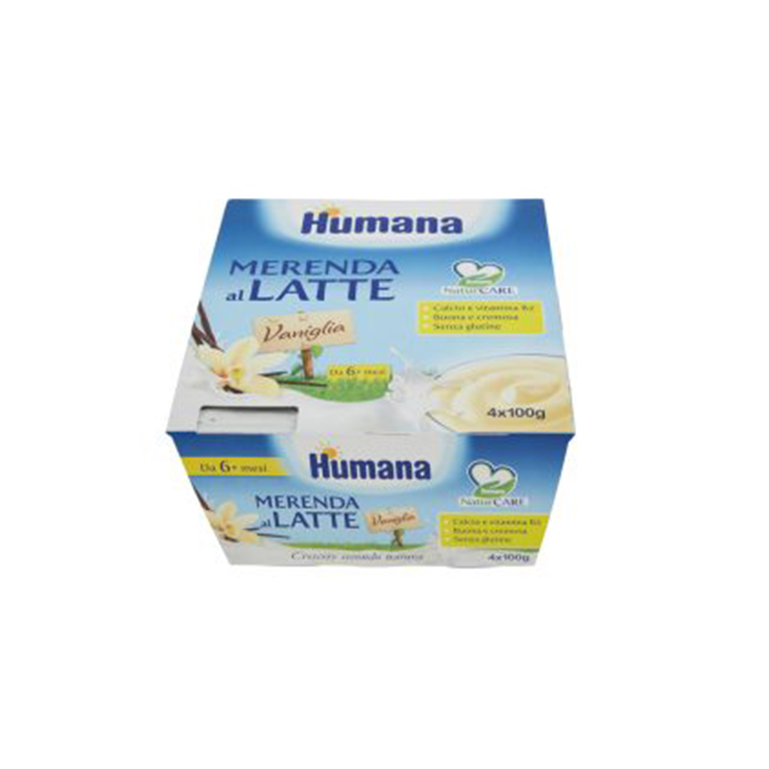 Humana Merenda al Latte Vaniglia