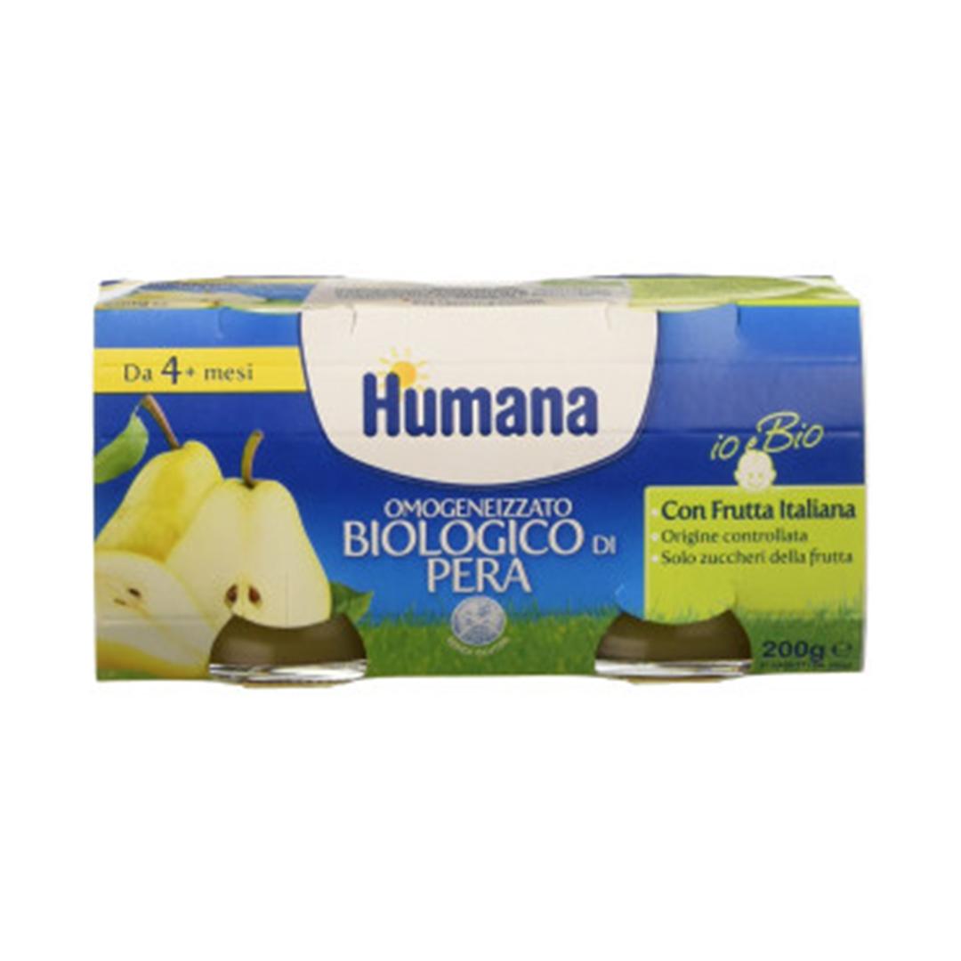 Humana Omogeneizzato Pera Biologico 2x100g