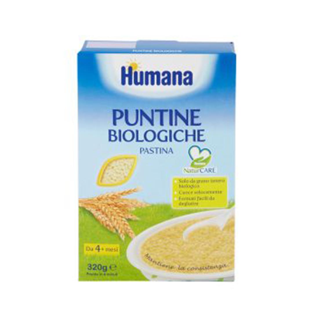 Humana Pastina Puntine Biologica