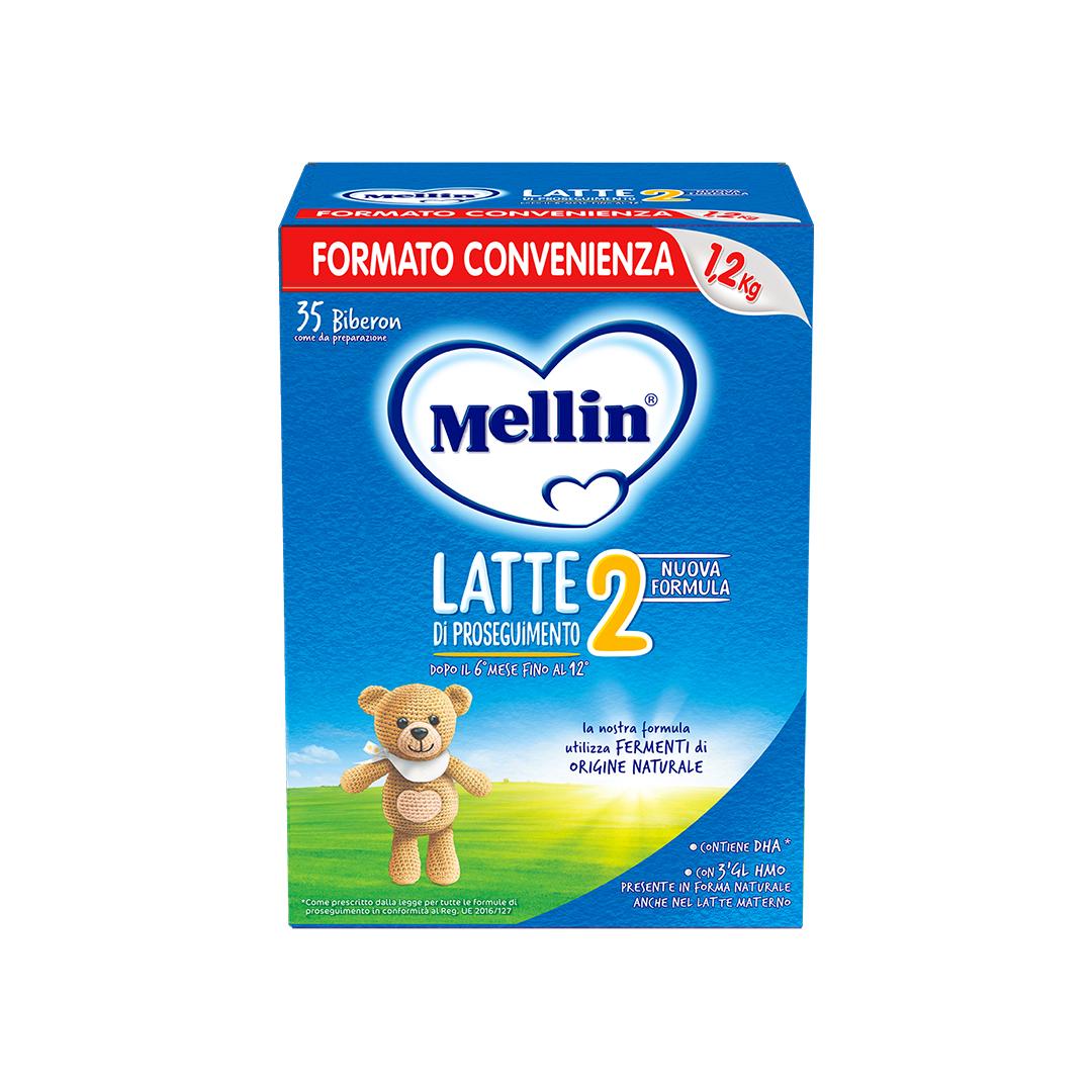 Mellin 2 Latte in Polvere 1200g