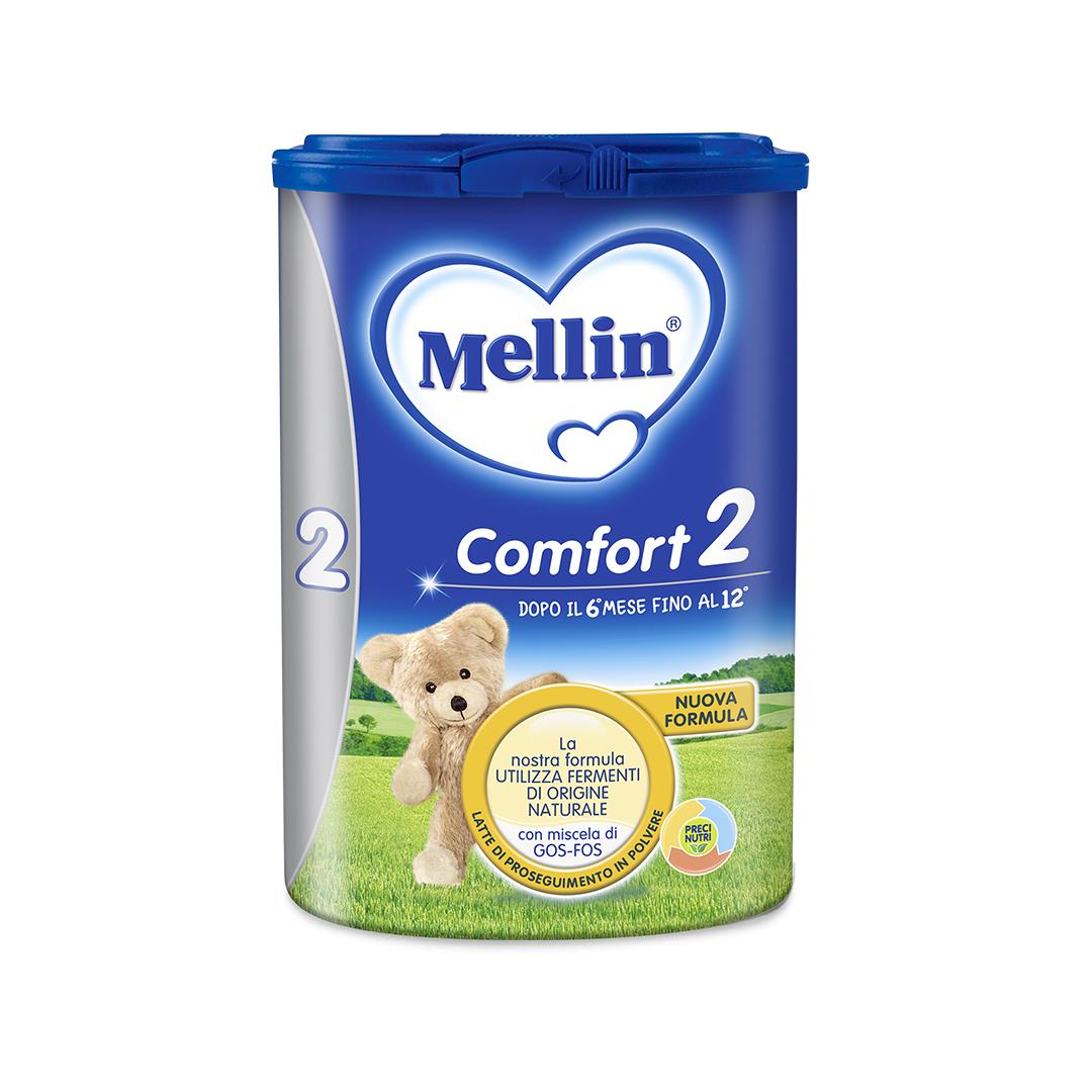 Mellin Latte in Polvere Comfort 2 800g