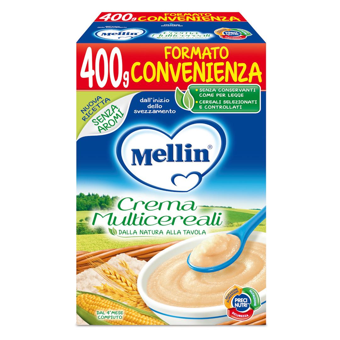 Mellin Crema Multicereali 400g