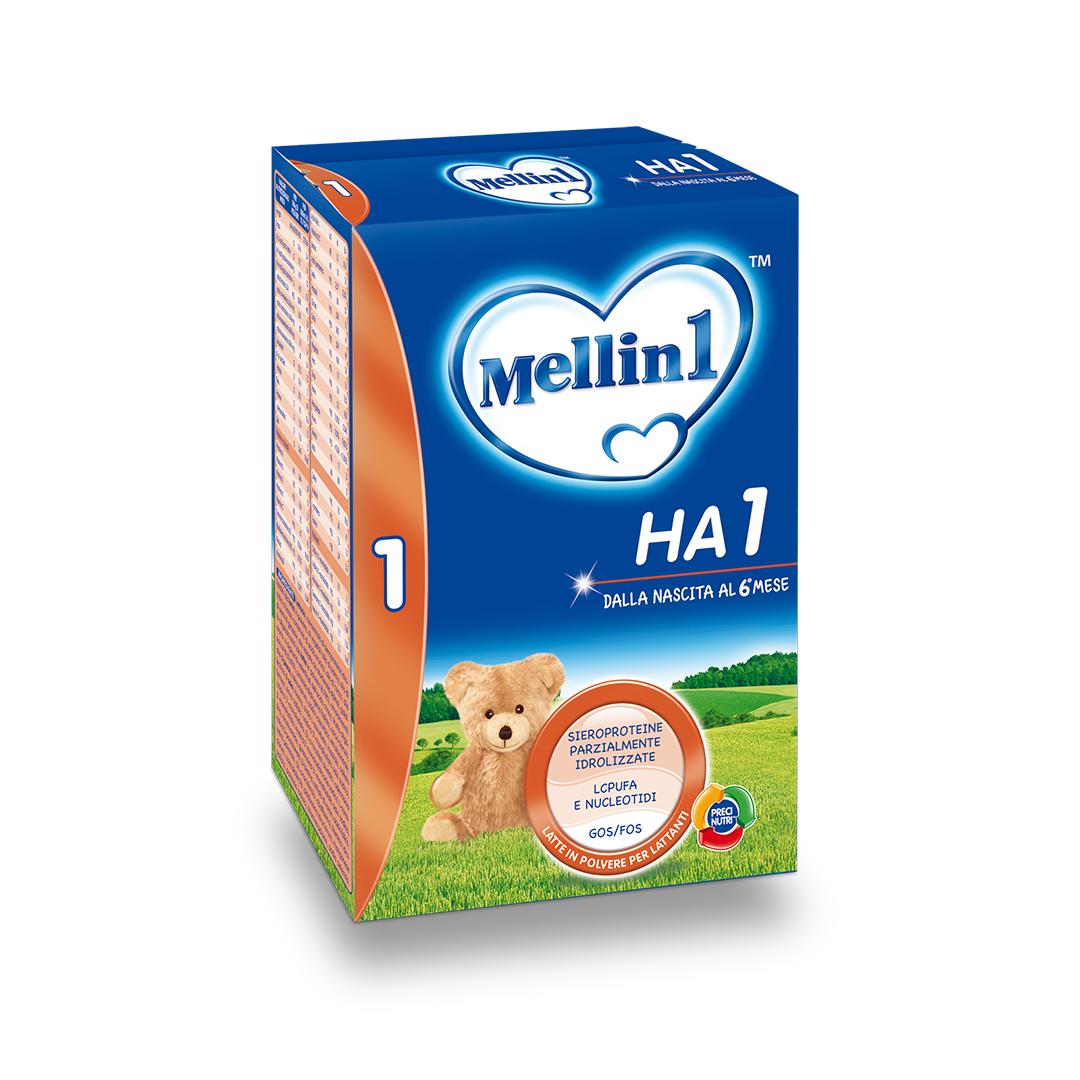 Mellin Latte in Polvere HA 1 600g
