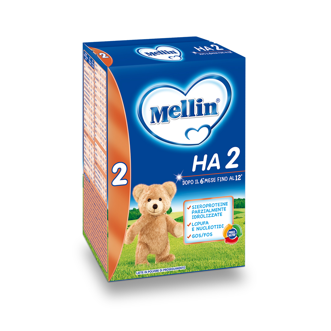 Mellin Latte in Polvere HA 2 600g