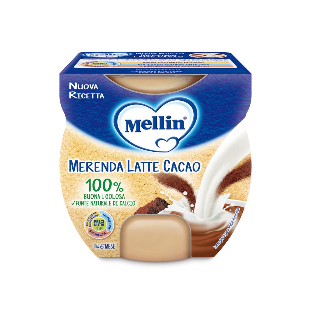 Mellin Merenda Latte Cacao 2x100g