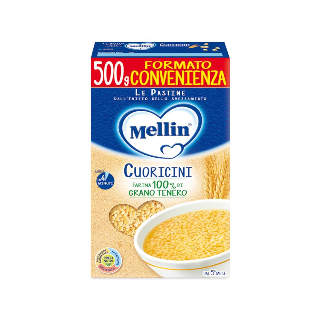 Mellin Pastina Cuoricini 500g