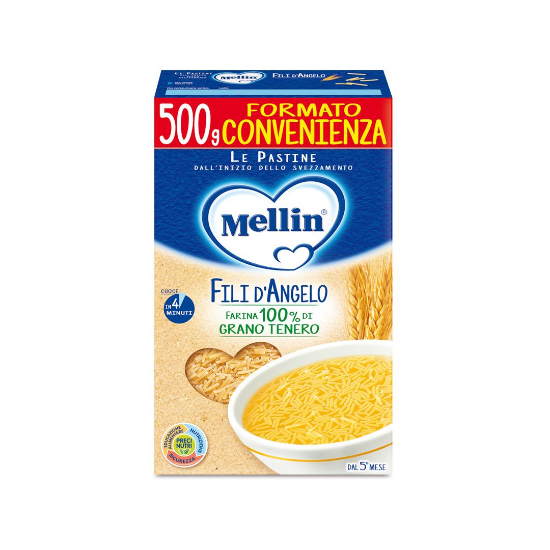 Mellin Pastina Fili d'Angelo 500g