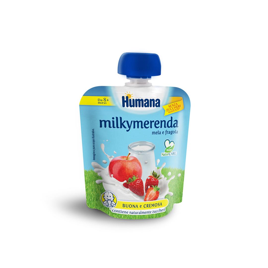 Humana Milkymerenda Mela Fragola