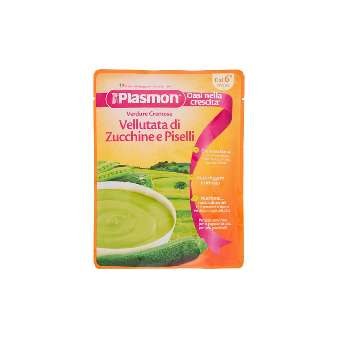 Plasmon Base Verdure Vellutata Zucchine e Piselli 180g