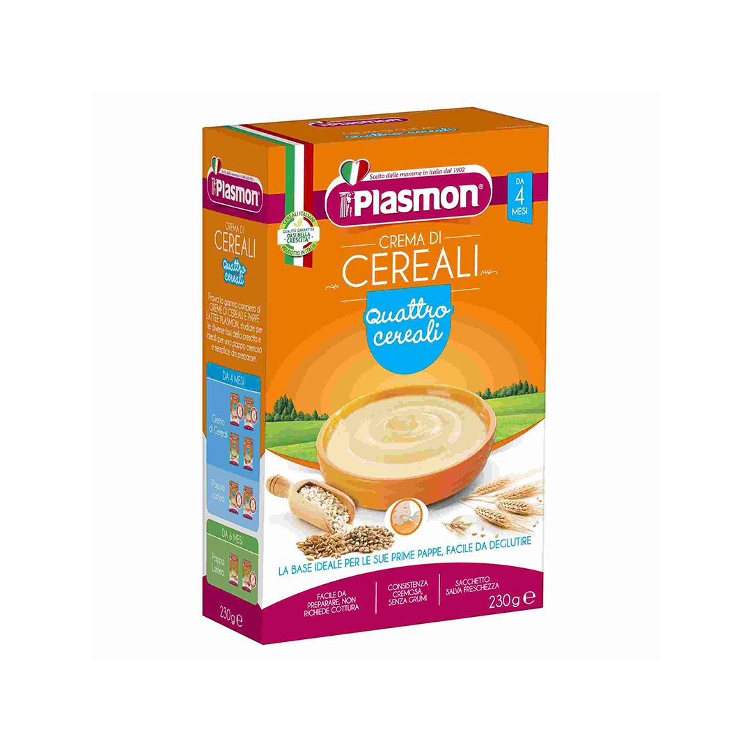 Plasmon Crema di Cereali 4 Cereali