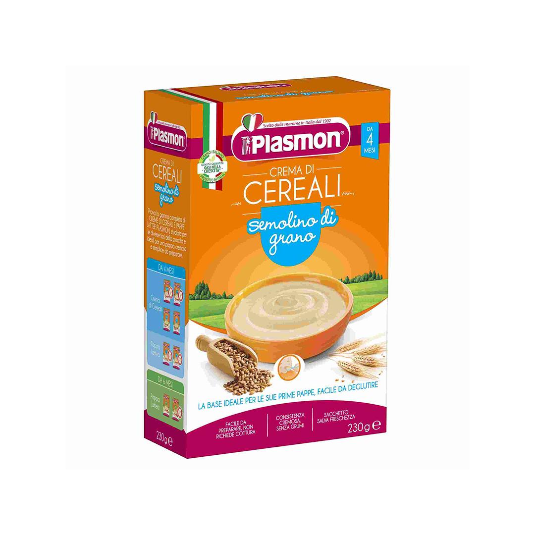 Plasmon Crema di Cereali Semolino di Grano