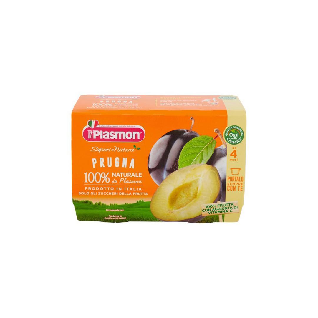 Plasmon La Frutta Dei Bambini Prugna 4x100g