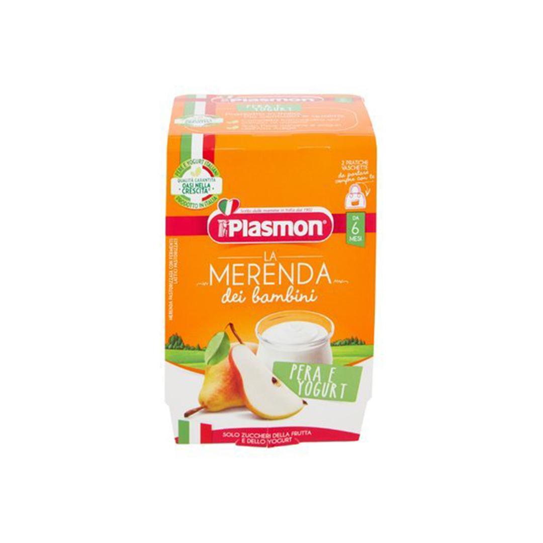 Plasmon La Merenda Dei Bambini Pera Yogurt 2x120g