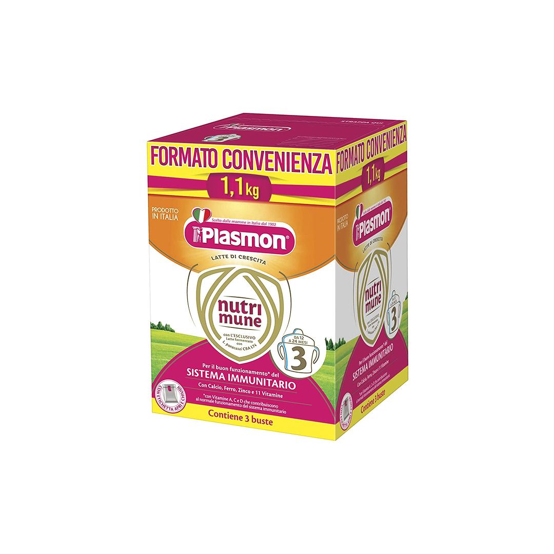 Plasmon Latte Polvere Nutri Mune 3 1100g