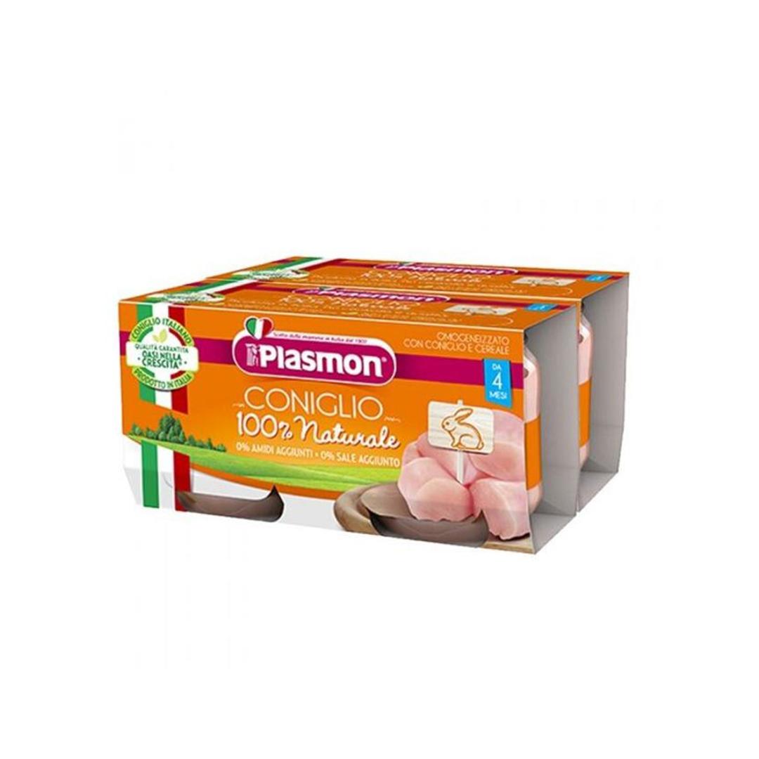 Plasmon Omogeneizzato Coniglio 4x80