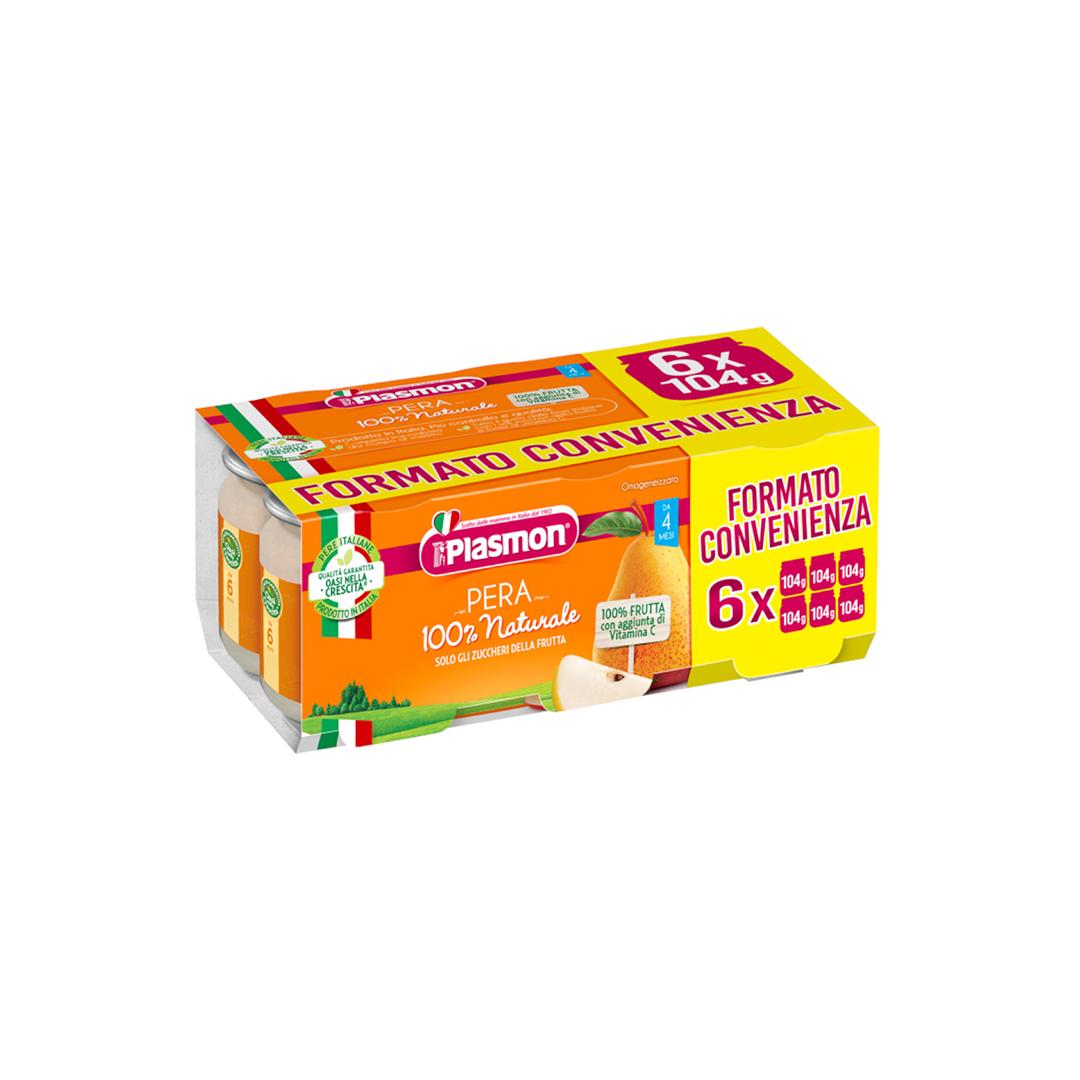 Plasmon Omo Frutta Pera 6x104