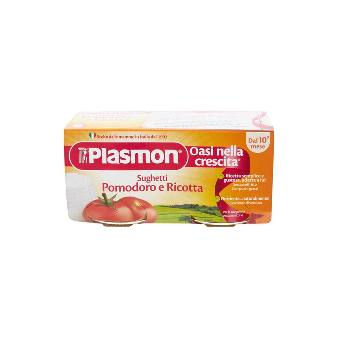 Plasmon Omo Sughetti Pomodoro e Ricotta