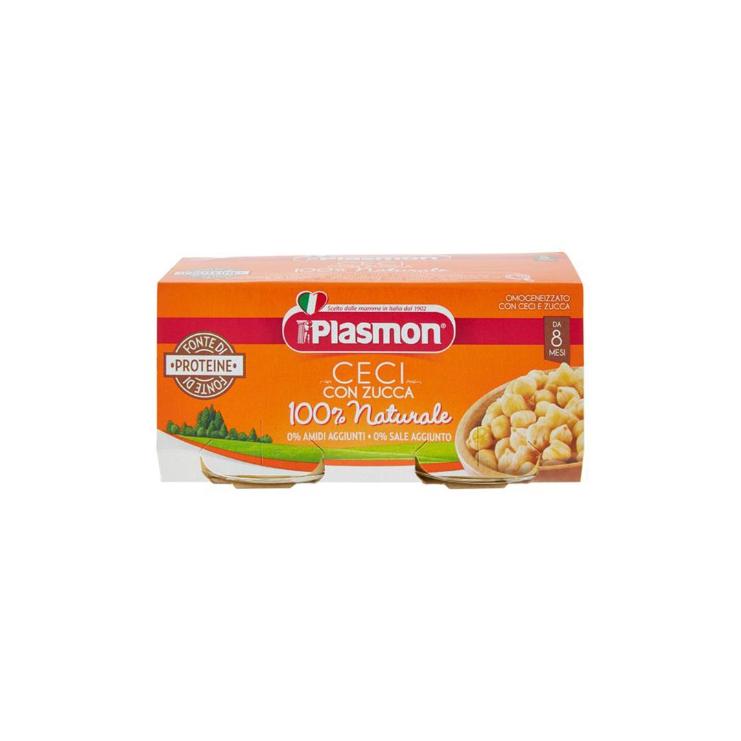 Plasmon Omogeneizzato Ceci e Zucca