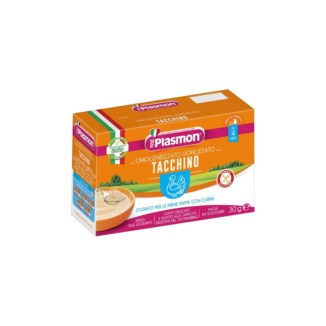 Plasmon Omogeneizzato Liofilizzato Tacchino 3x10g