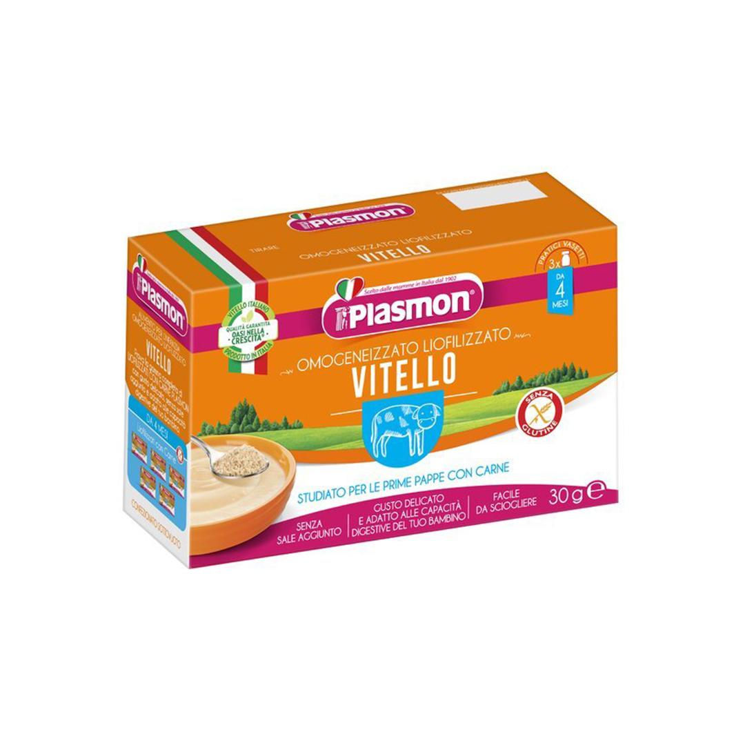 Plasmon Omogeneizzato Liofilizzato Vitello 3x10g
