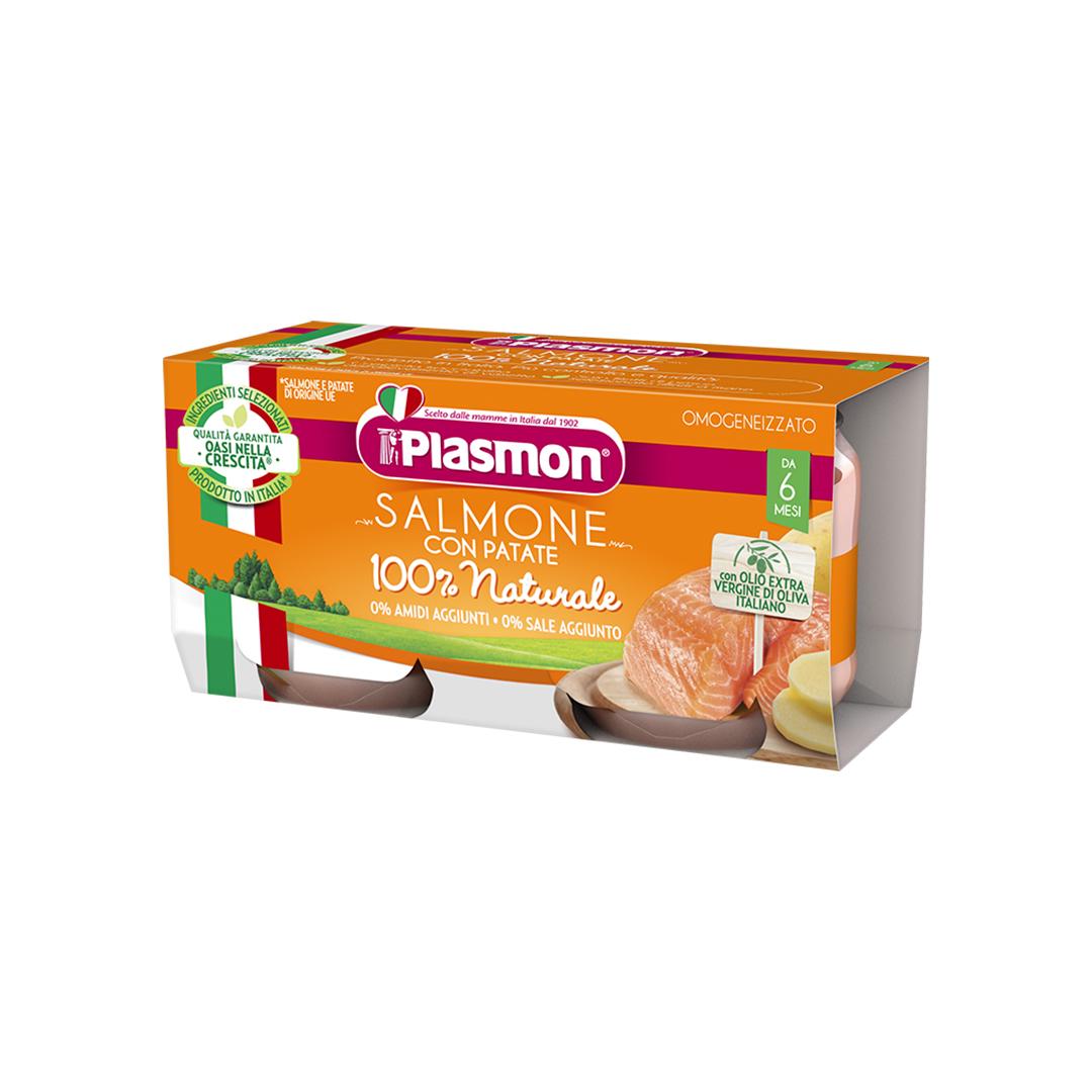 Plasmon Omogenizzato Salmone