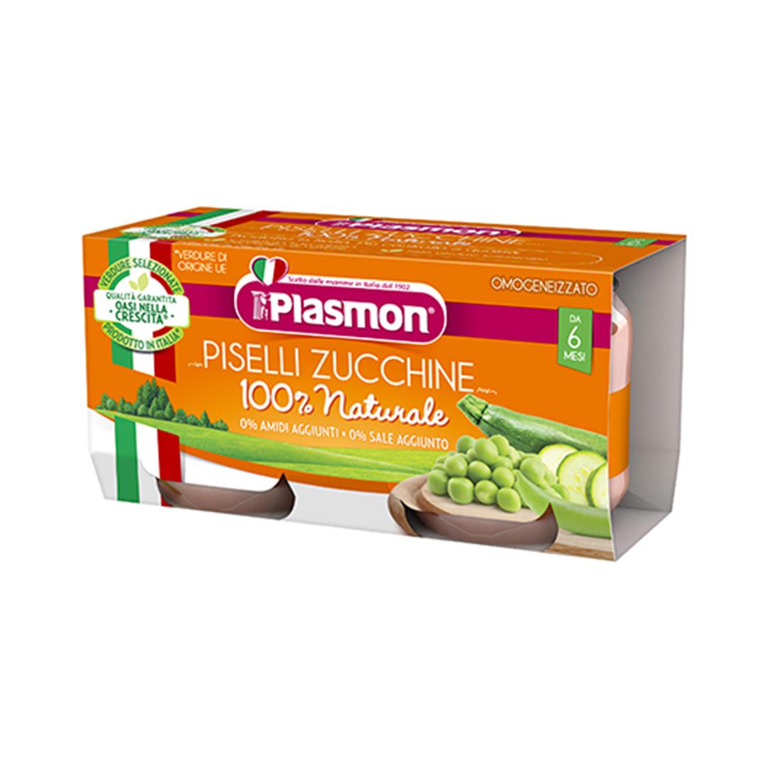 Plasmon Omogenizzato Verdure Piselli Zucchine