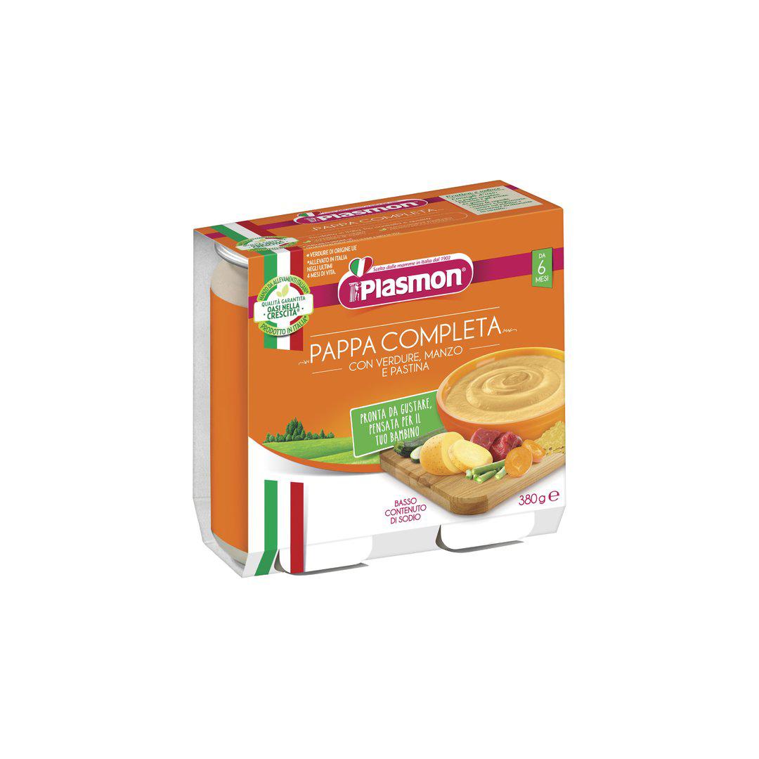 Plasmon Pappa Completa Manzo Verdure Pastina