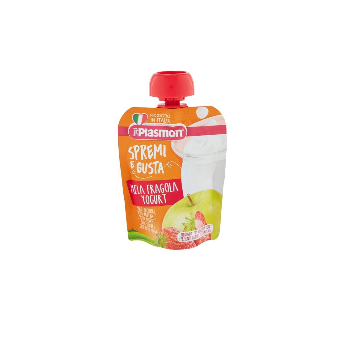 Plasmon Spremi e Gusta Fragola Mela Yogurt 85g