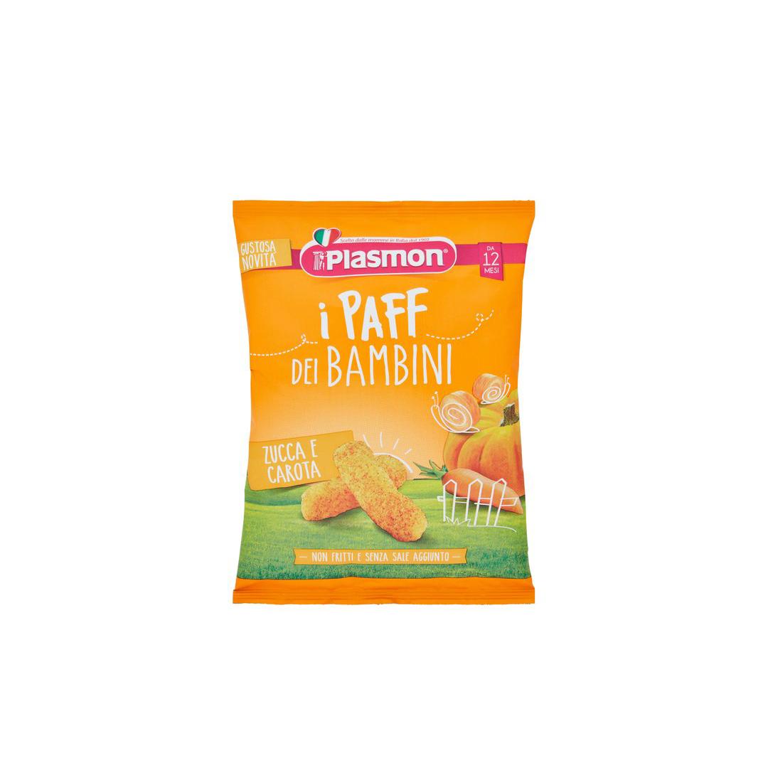 Plasmon i Paff dei Bambini Carote e Zucca 15 g