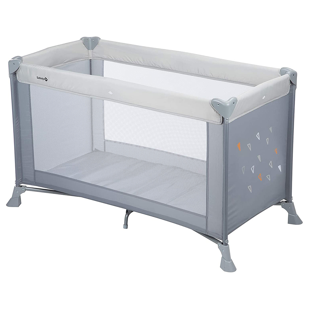 Safety 1st Soft Dreams Lettino da viaggio richiudibile Warm Gray