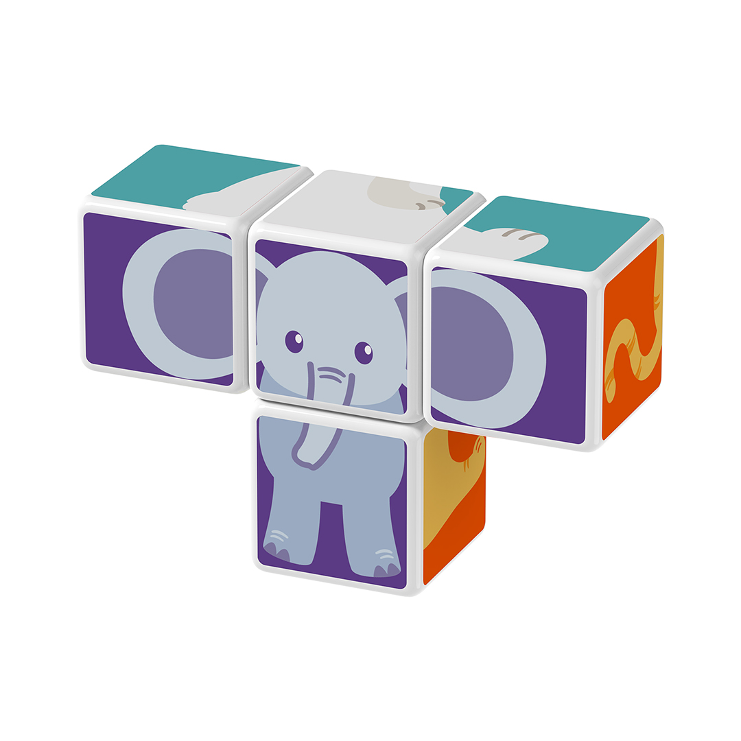 Geomag Magicube Animal Friends elefante