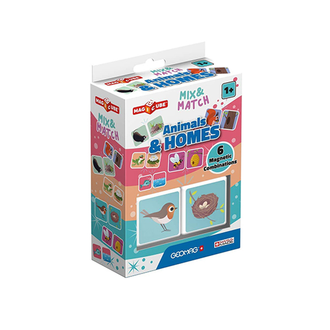 Geomag Magicube Mix & Match Animals & Home