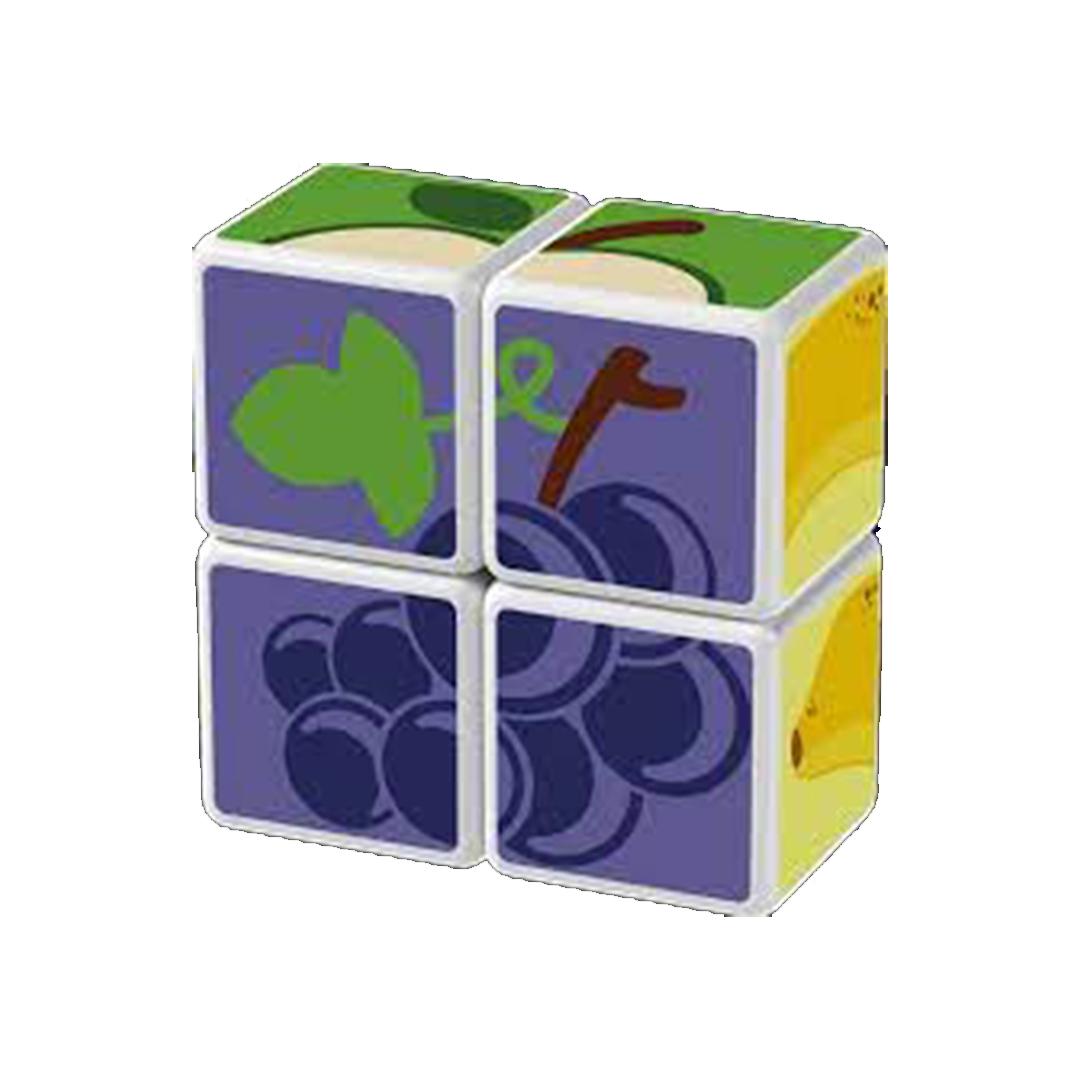 Geomag Magicube fruit uva