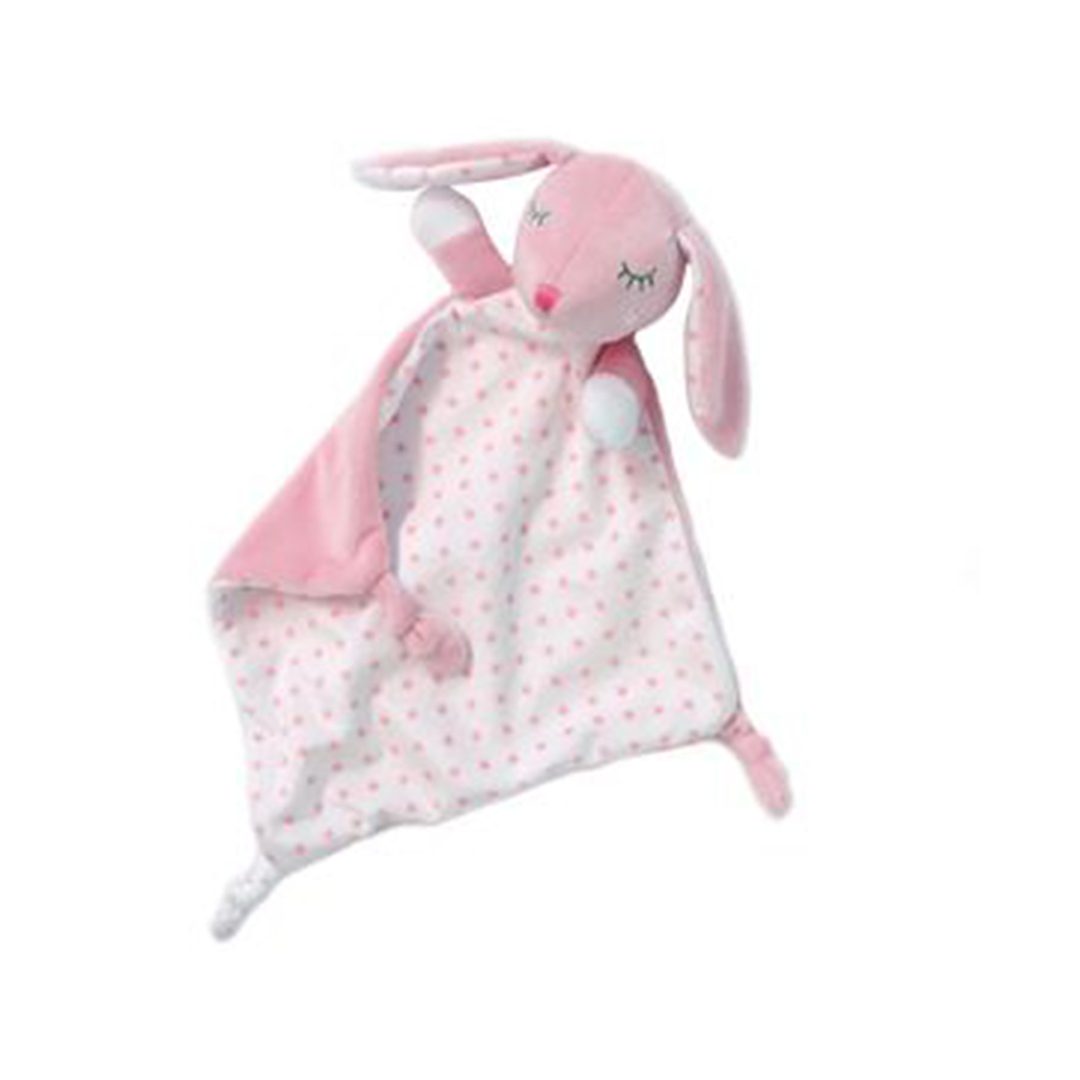 Kiokids doudou coniglietto rosa 2 30cm