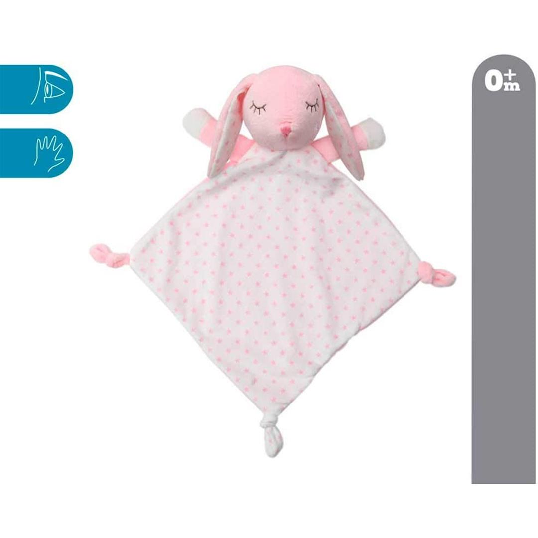 Kiokids doudou coniglietto rosa 30cm