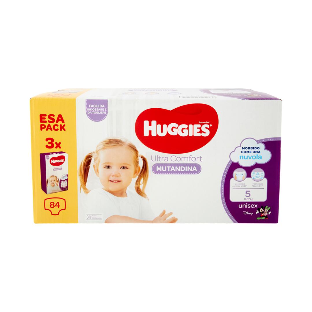 Huggies mutandina multipack 5